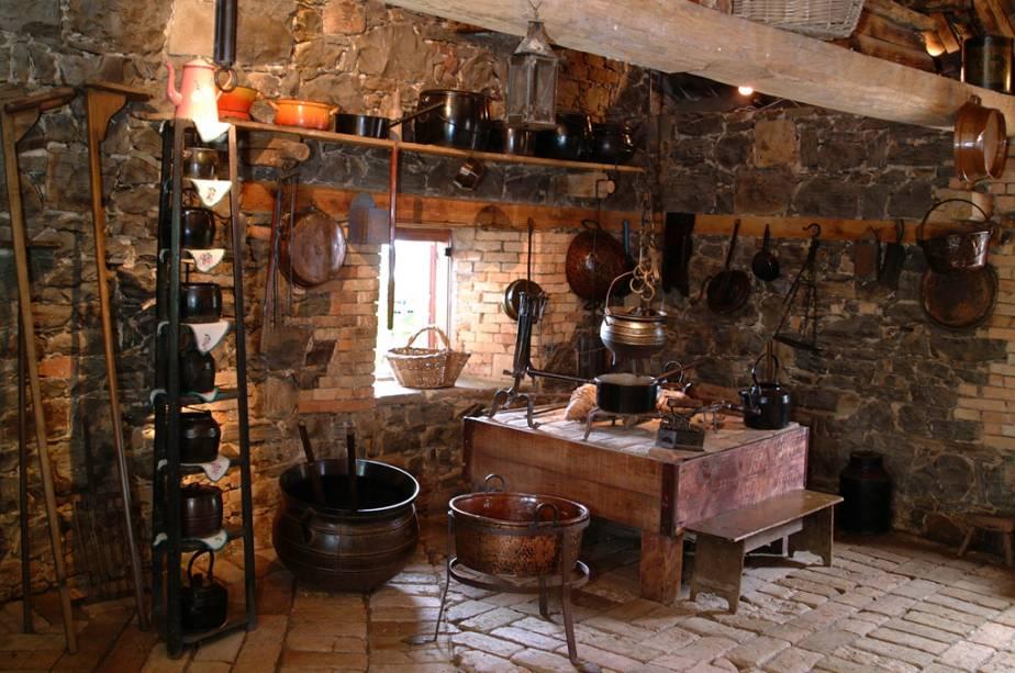Museu da atmosfera de casa de pedra