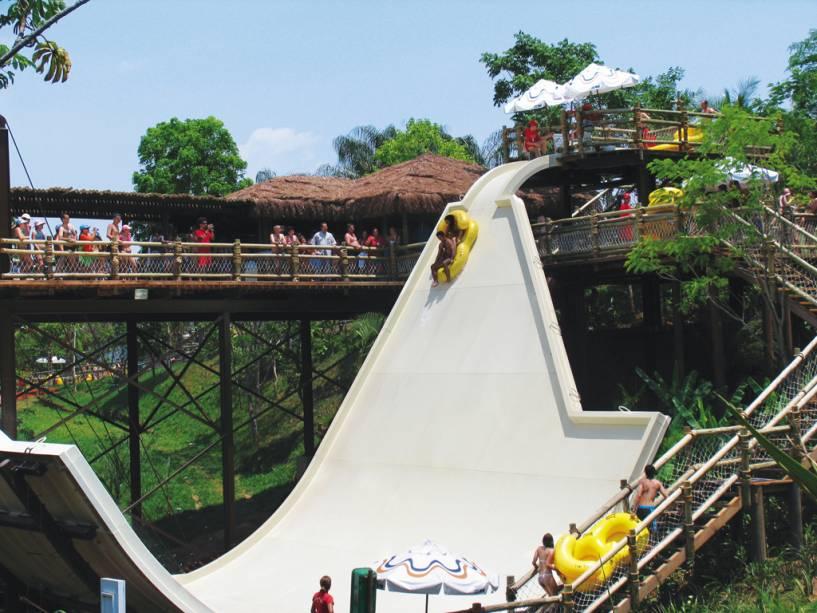 São muitas opções no Hot Park em Rio Quente (GO).
