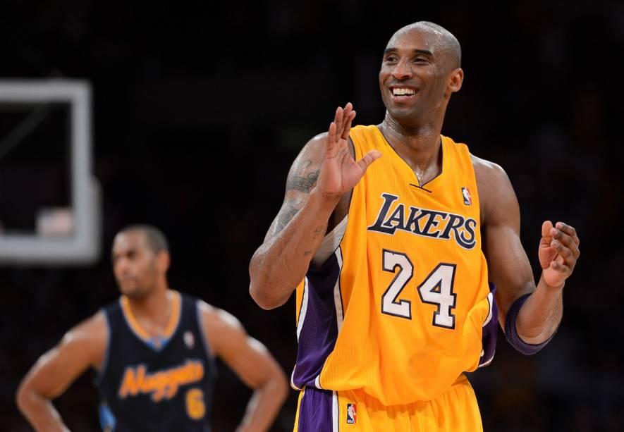 O Los Angeles Lakers é uma das equipes de maior sucesso na história do basquete da Liga Americana da NBA.  Kobe Bryant (foto) é apenas o mais recente em uma lista espetacular de estrelas do time que inclui Magic Johnson, Kareem Abdul Jabbar e Shaquille ONeal