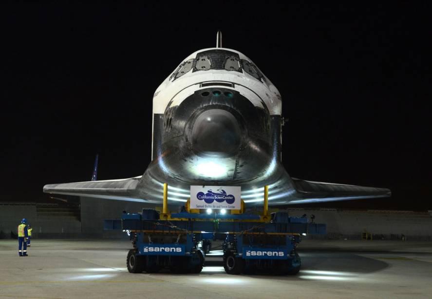 O California Science Museum é a residência permanente do Ônibus Espacial Endeavour