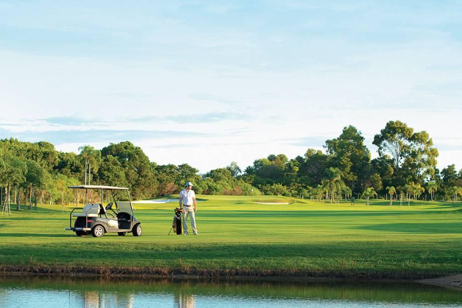 Campo de golfe Costão do Santinho Resort em Florianópolis, Santa Catarina