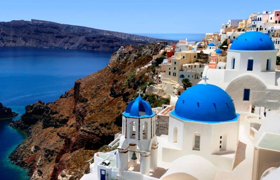 Santorini não tem praias como Mykonos ou Aphrodite's Home, mas esta é a nossa dica grega para casais apaixonados.  E nem tinha lugar para falar do pôr-do-sol ...