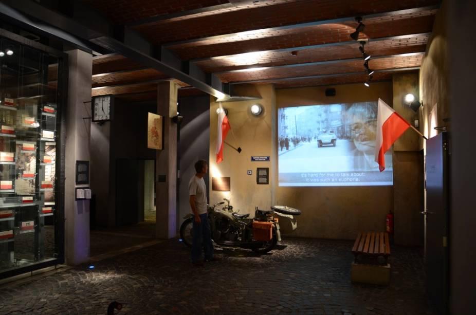 Com excelente conservação e recursos multimídia, o Museu Levante de 1944 conta a dramática história da resistência anti-nazista