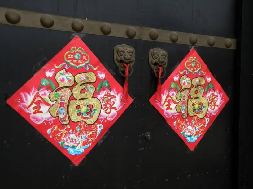 Sinais de felicidade são muito comuns na China