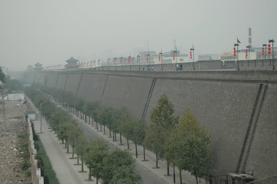 Muralhas da cidade de Xian
