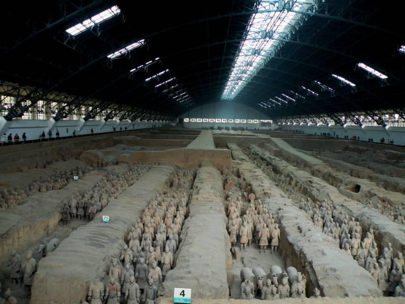 Exército de Terracota, Xian