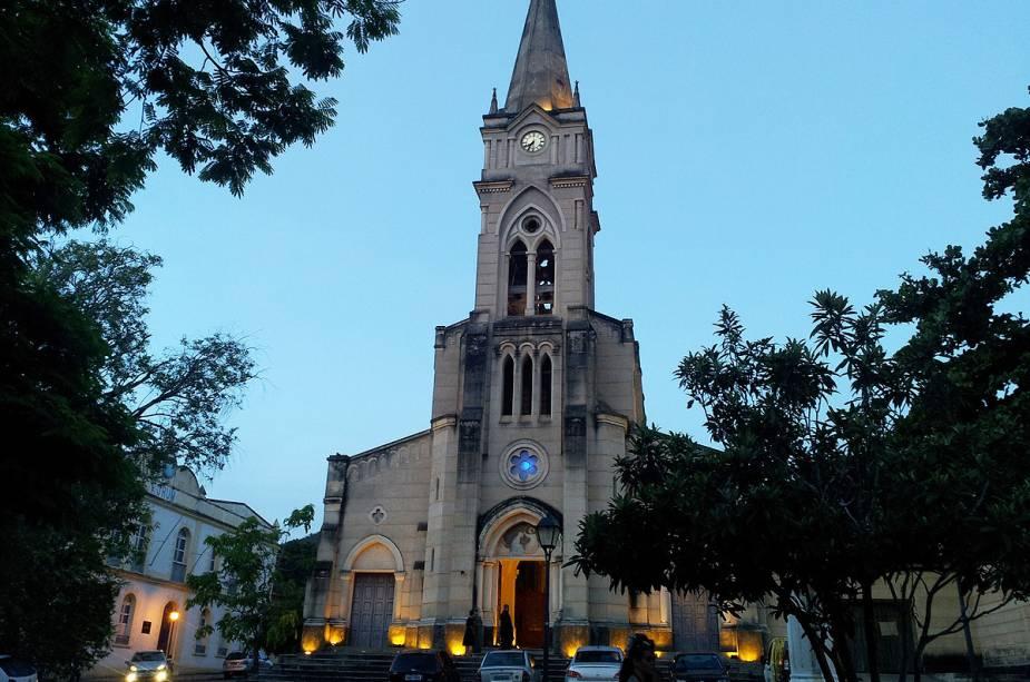 A Igreja do Rosário foi demolida e reconstruída no local em estilo gótico