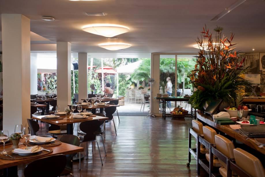 Bar do Ganso, restaurante do Instituto Inhotim