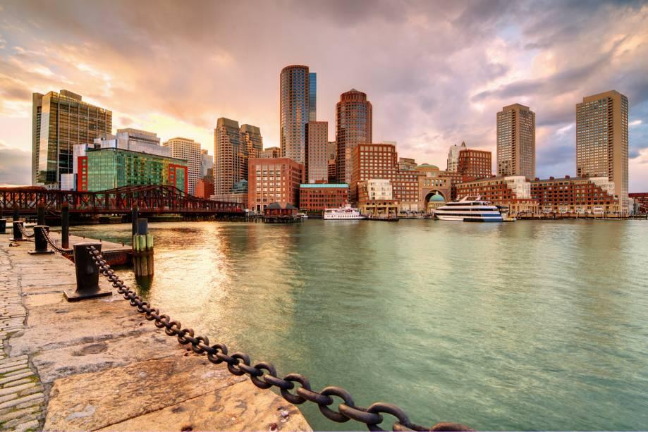 Vale a pena dar um passeio por Boston e se surpreender com a história local e sua estatura