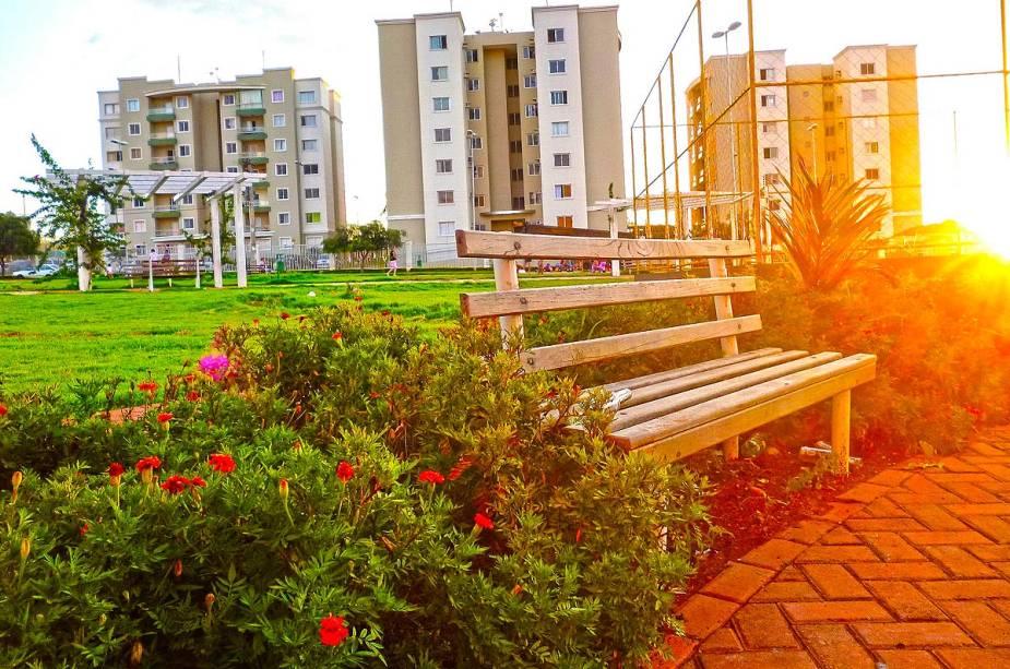 Goiânia é uma cidade conhecida por seus diversos parques arborizados com lagos e trilhas para caminhadas