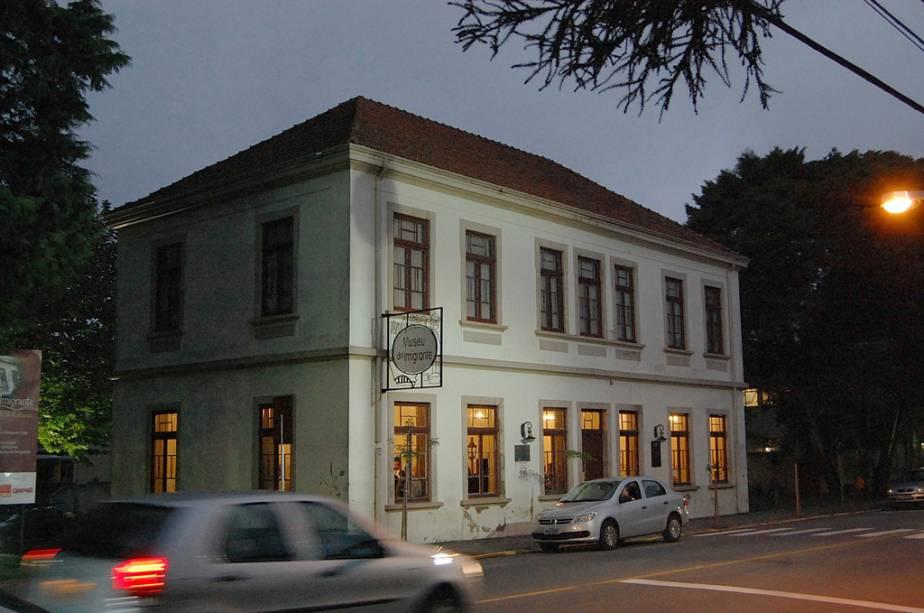 Museu da Imigração em Bento Gonçalves, no Rio Grande do Sul