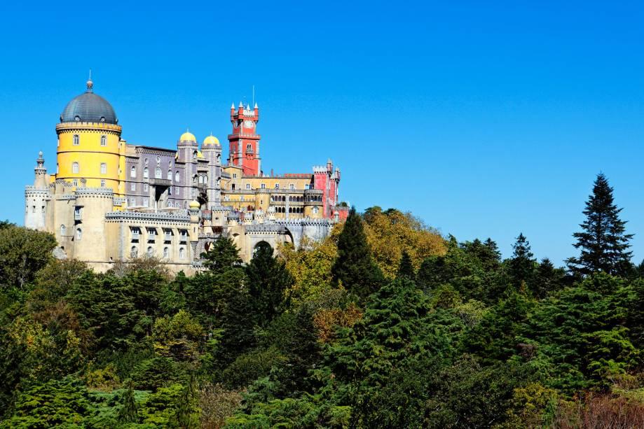 O Palazzo Pena é um dos mais extravagantes do país, talvez no continente