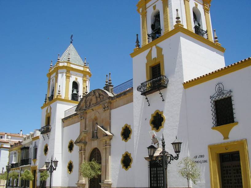 Igreja do Socorro em Ronda
