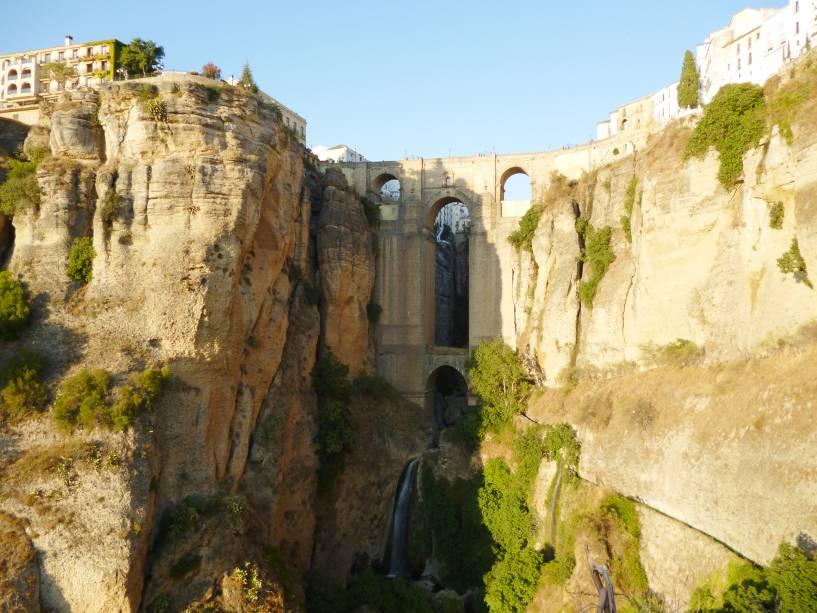 A velha ponte de Ronda