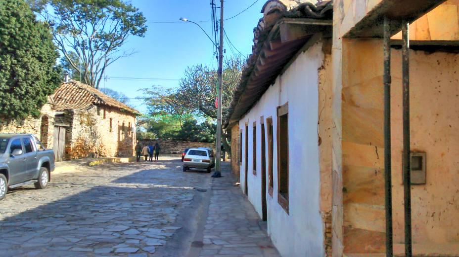 As estreitas ruas de pedra dão a São Tomé uma atmosfera de nostalgia