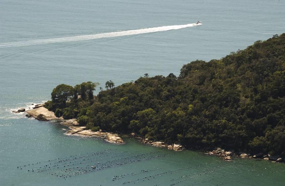 Vista do mirante do Parque Unipraias Camboriú
