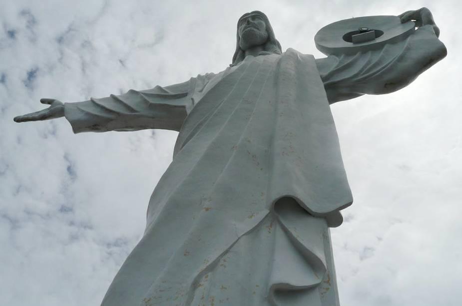 Cristo Luz, um dos cartões postais da cidade