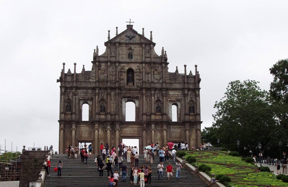 Ruínas de São Paulo.
