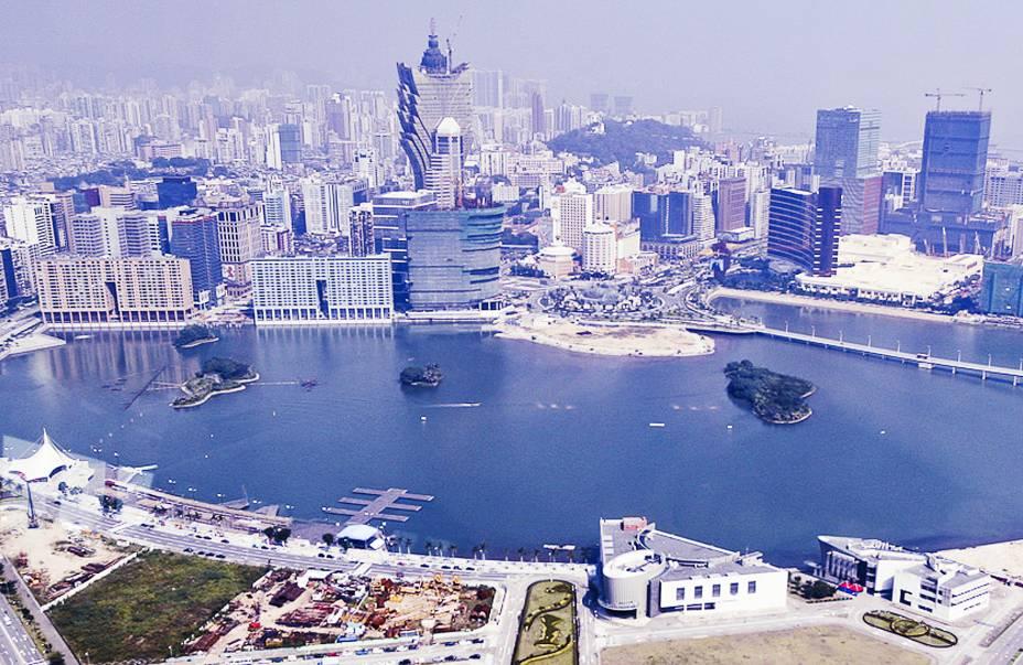 Vista da Torre de Macau.