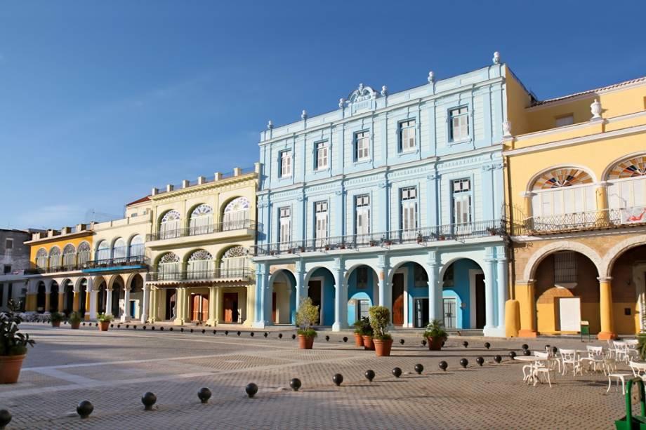 Plaza Vieja em Havana Velha