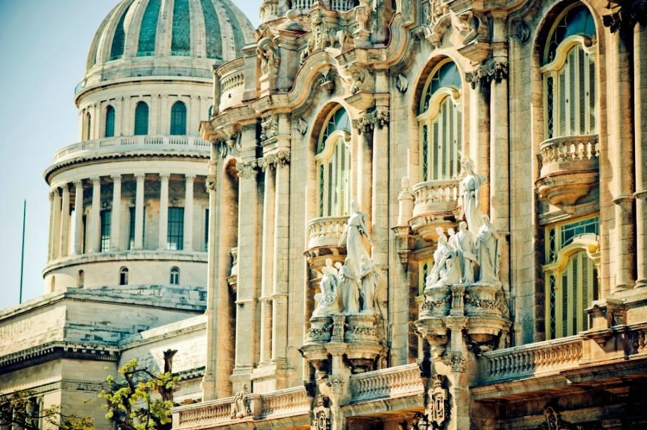 Havana está repleta de bons exemplos de arquitetura neoclássica