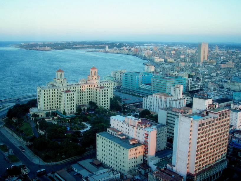 Vista aérea de Havana