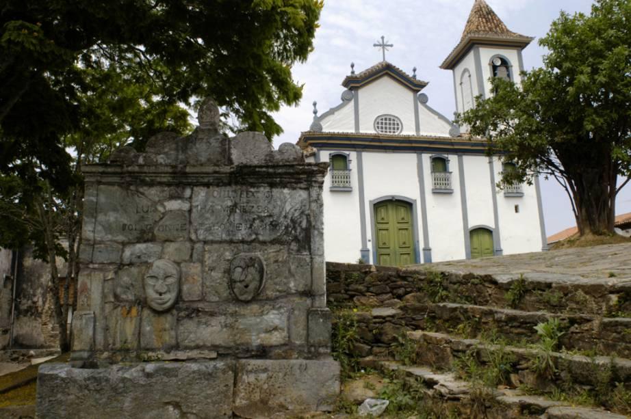 A abundância de santos negros na igreja de Nossa Senhora do Rosário reforça a etnia dos escravos que construíram boa parte do local