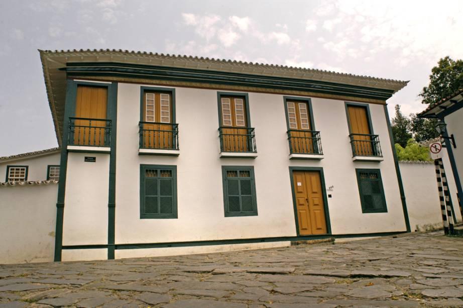 A Casa de Chica da Silva tem uma exposição permanente de pinturas em que Chica encarna os sete pecados capitais