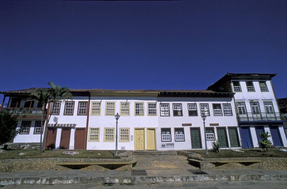 Casas de dois andares em Diamantina