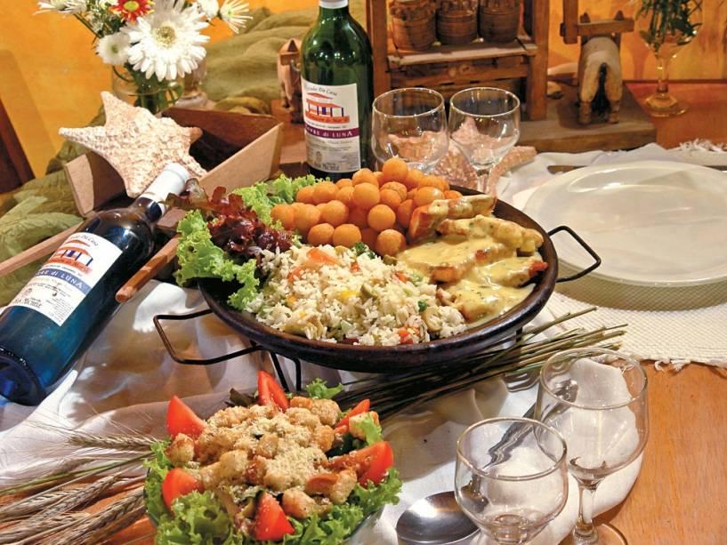 Prato do restaurante Armazem do Mar