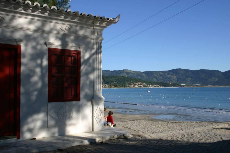 Praia central