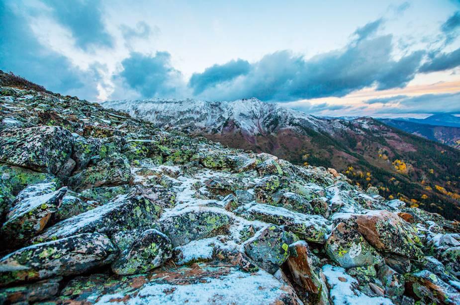 Os belos cenários da região de Aspen, que fica lotada durante o inverno
