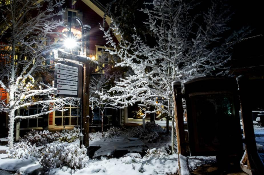 A infraestrutura hoteleira, de serviços e alimentação está concentrada na cidade de Aspen e na vila de Snowmass, a cerca de 20 quilômetros do resort