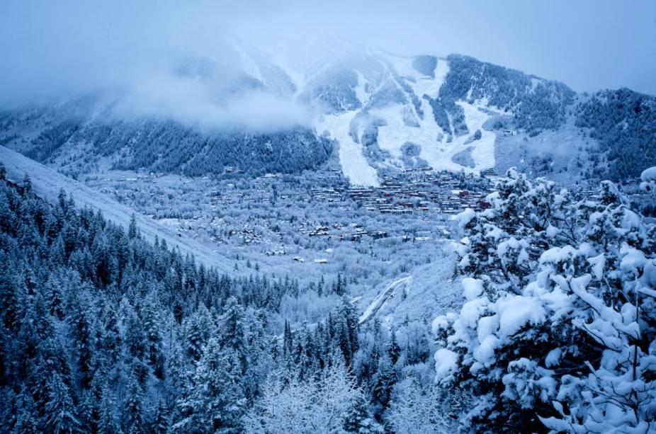A região de Aspen tem se tornado cada vez mais popular como área de esqui para os brasileiros