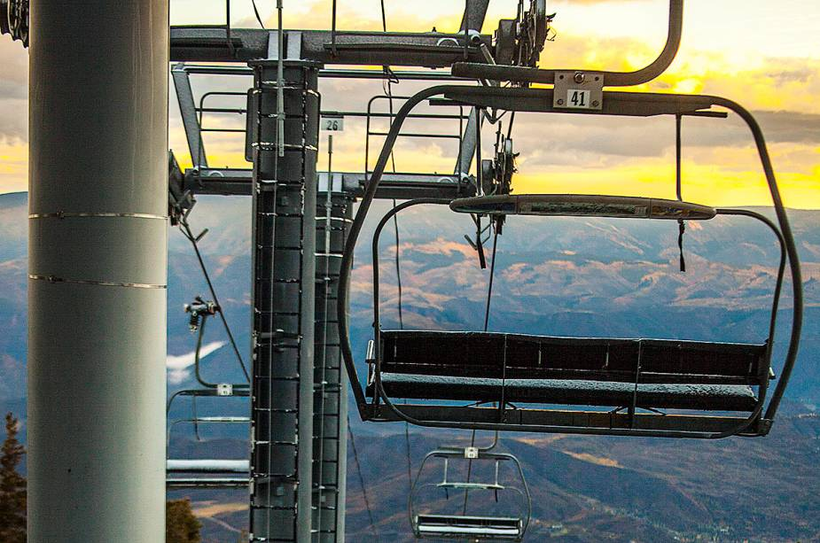 Os teleféricos de Aspen-Snowmass são modernos e bem equipados