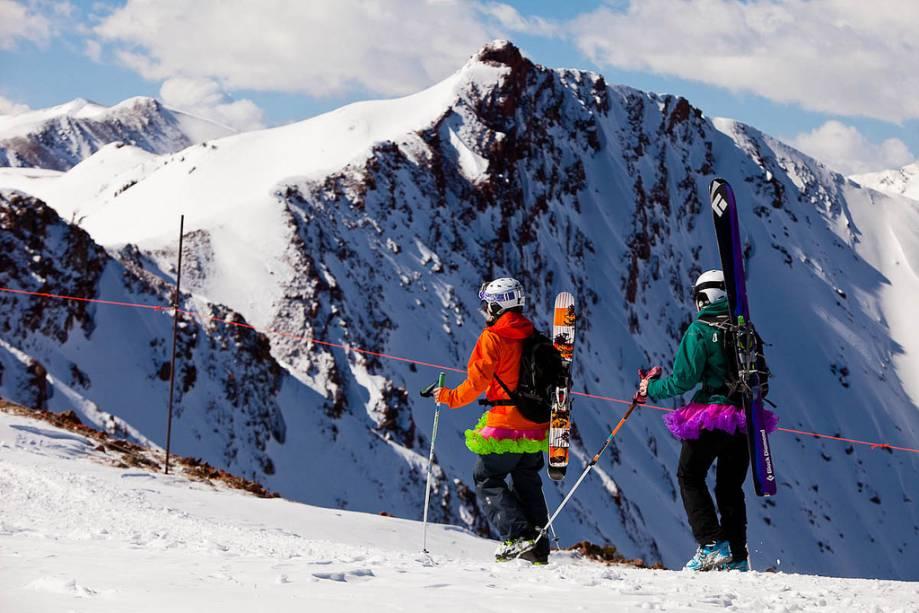 Em Aspen-Snowmass, fora dos caminhos tradicionais.  Existem inúmeras atividades para os fãs de esportes aqui