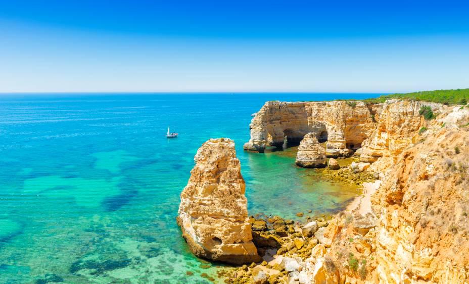A costa de Portimão é uma das mais bonitas do mundo