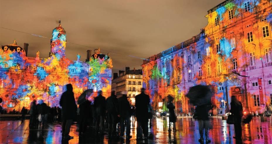 Noite clara em Lyon