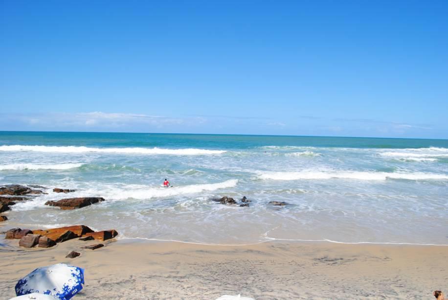 Praia da Tiririca, favorita dos surfistas