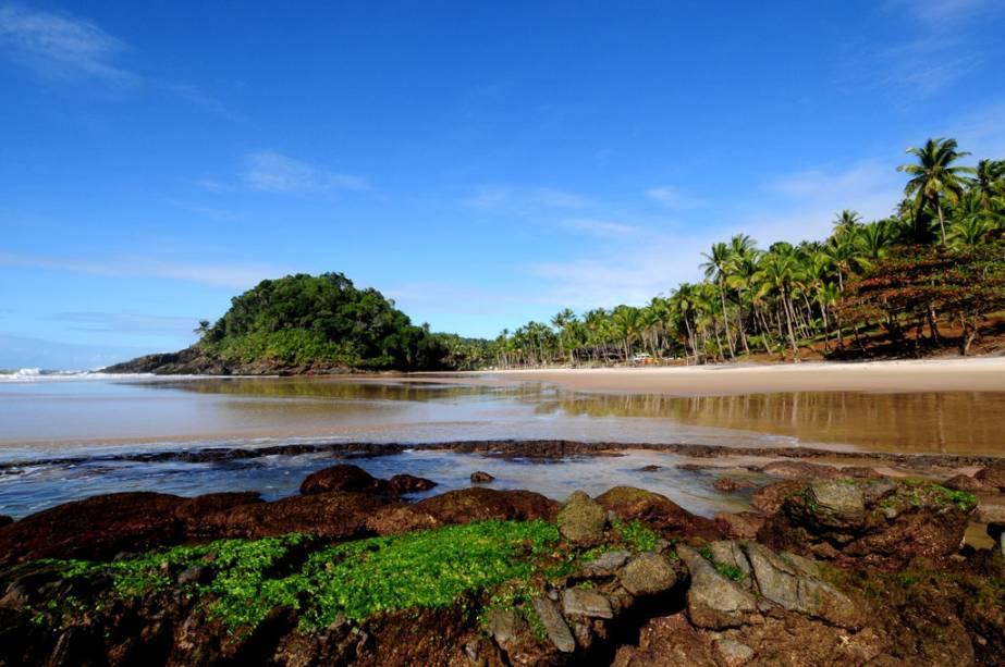 Vista da Praia de São José, a apenas 15 minutos a pé da cidade vizinha de Prainha
