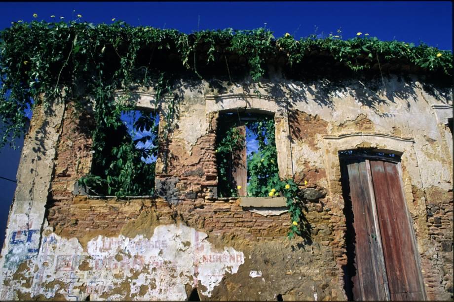 Ruínas da casa dos Jesuítas em Itacaré