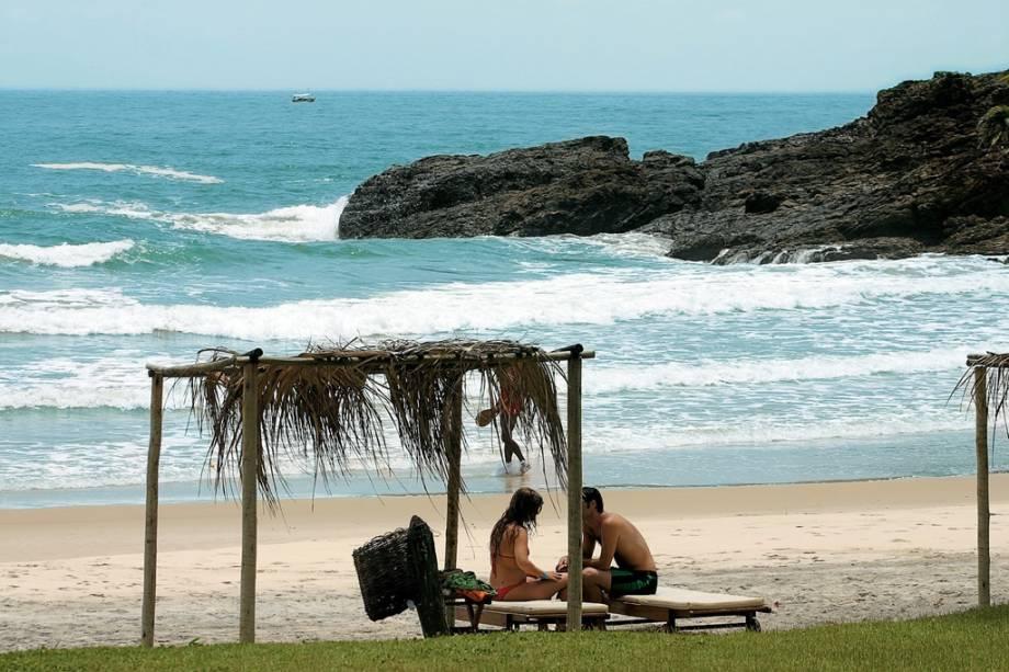 Praia de São José, acessível em 15 minutos a pé da vizinha Prainha