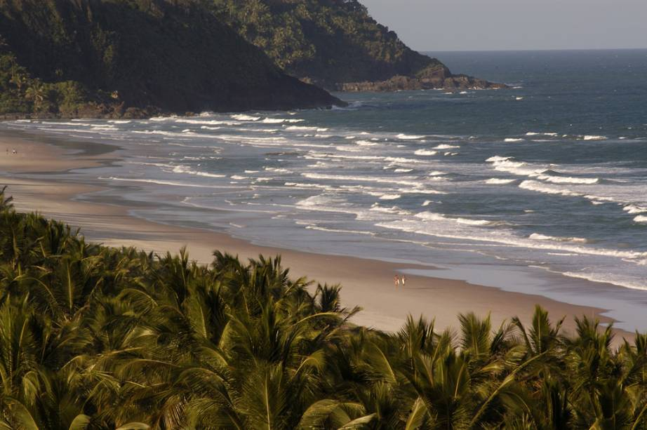 Praia de Itacarezinho, uma das mais bonitas de Itacaré e de fácil acesso