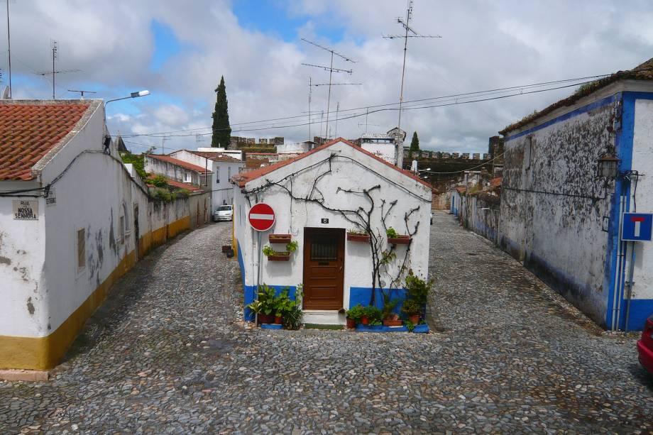 Vila Viçosa nos arredores de Portugal