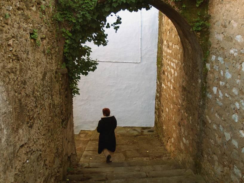 Interior do castelo de Vila Viçosa
