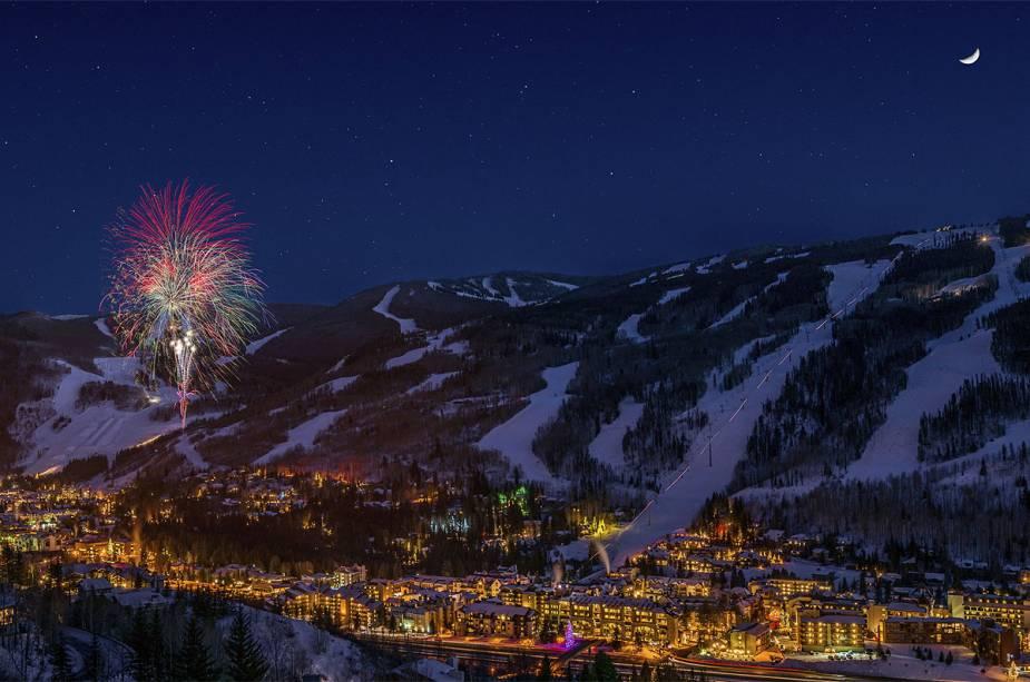 Vista geral dos Vail Resorts, Colorado