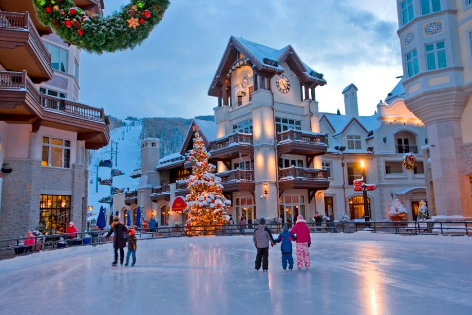 Vail's Ice Rink Place