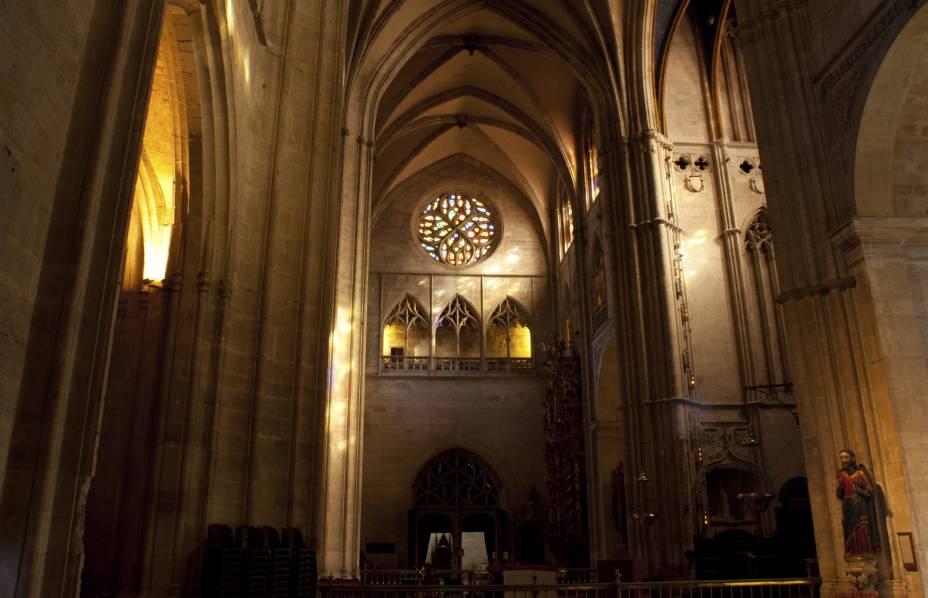 Interior da Catedral de Oviedo