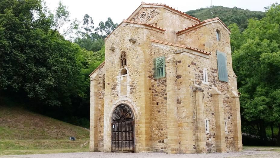 Igreja de San Miguel de Lillo nos arredores de Oviedo
