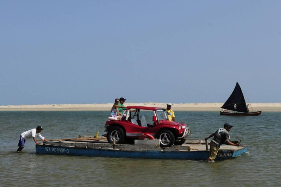 Em Jeri, os passeios de bugue pelas diversas lagoas da região são muito procurados pelos turistas.
